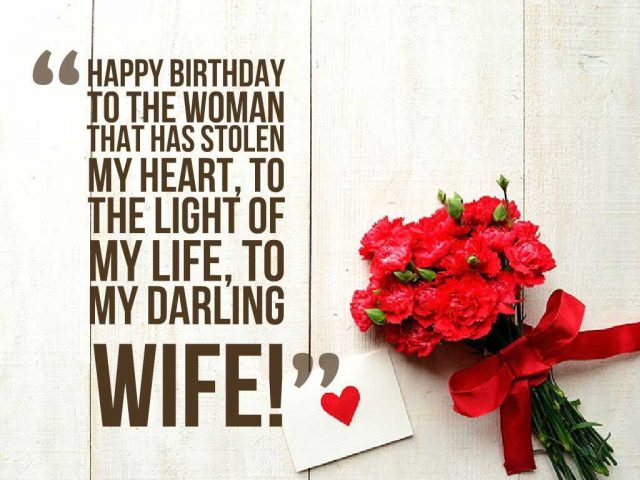 Birthday Wishes for Loving Wife 2020 20