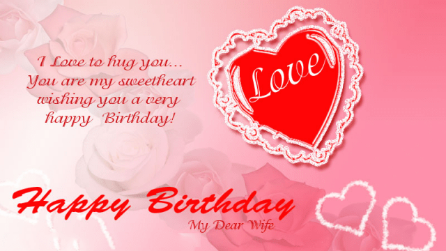 Birthday Wishes for Loving Wife 2020 26