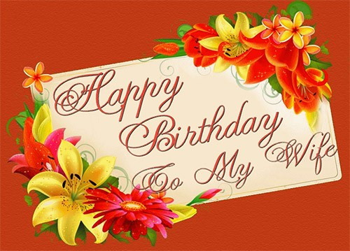 Birthday Wishes for Loving Wife 2020 6