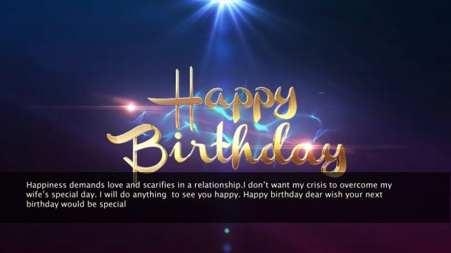 Birthday Wishes for Loving Wife 2020 9