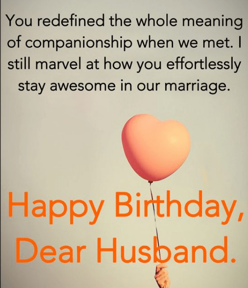 Fun Birthday Wishes for Husband