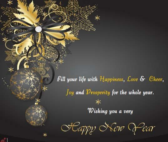 Happy New Year Wishes for Friends, Family, Lover with images.