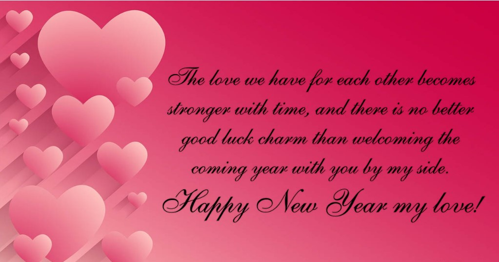 New Year Messages For Boyfriend