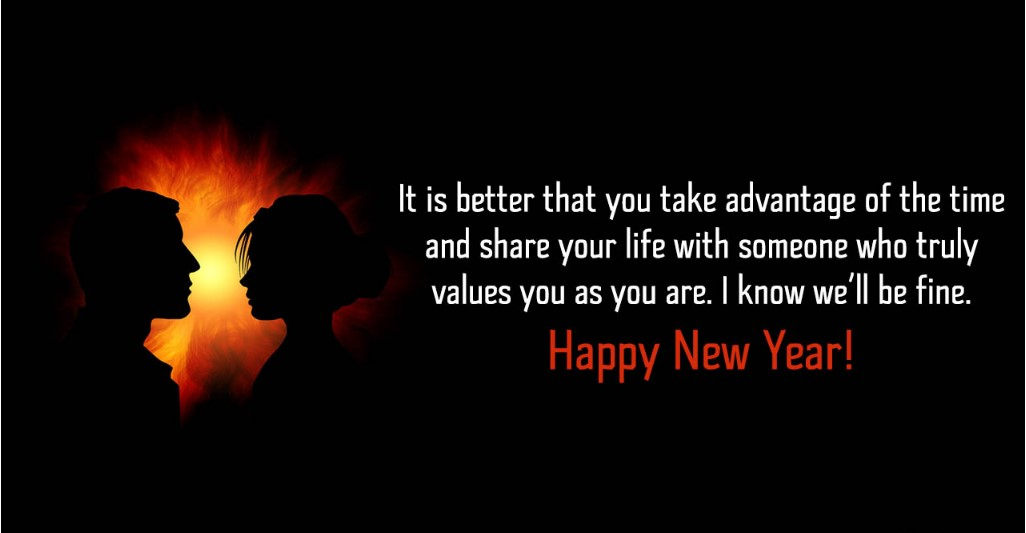 New Year Messages For Girlfriend 2021
