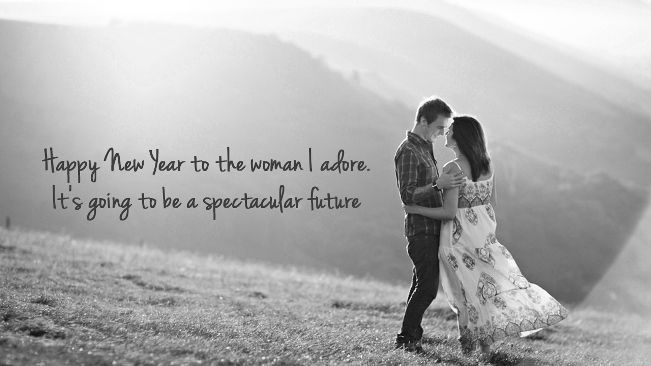 New Year Wishes for Girlfriend and Boyfriend