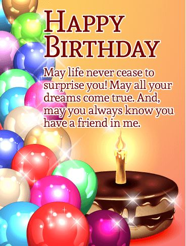 Happy Birthday Wishes for Friends 2020