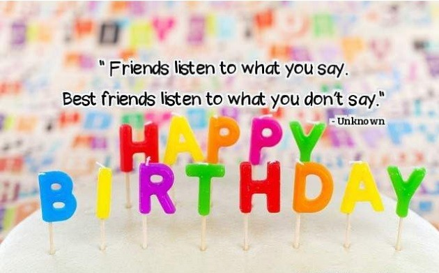 Birthday Wishes for Close Friends