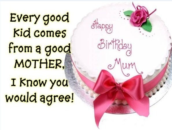 Birthday wishes for mother 1