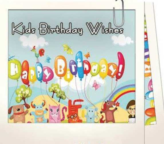 birthday wishes for kids 2020 -2